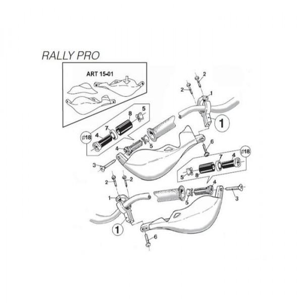 Предпазители за ръце Rally Pro