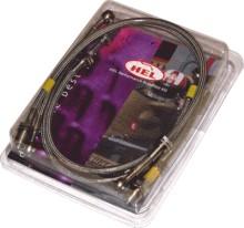 HEL спирачни маркучи за GSXR600 01/03