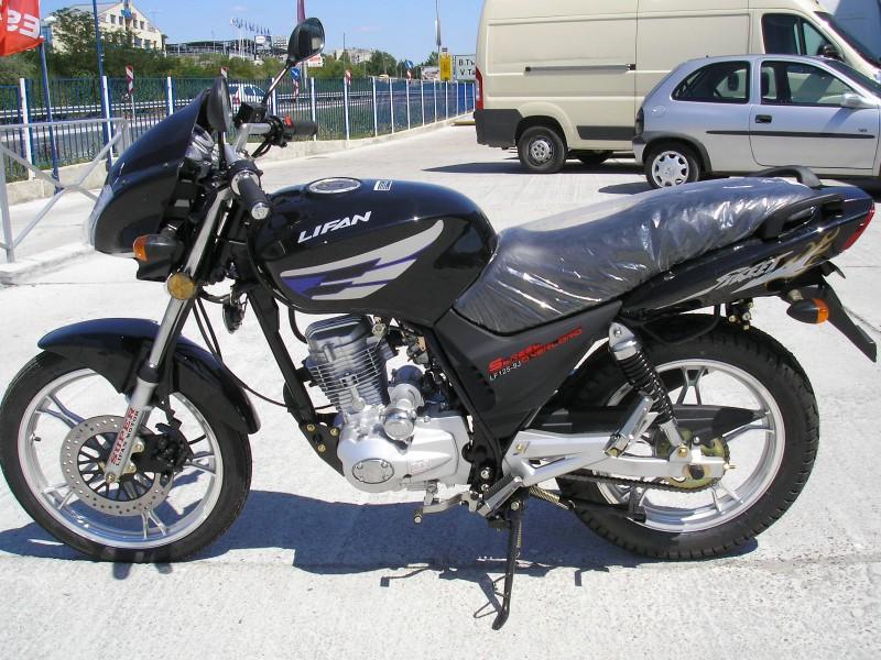 Нов Мотоциклет LIFAN FS125-9J