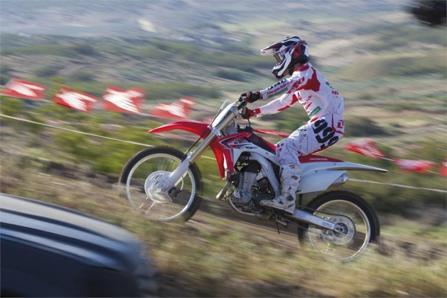 Нов Мотоциклет Honda CRF 450 RD