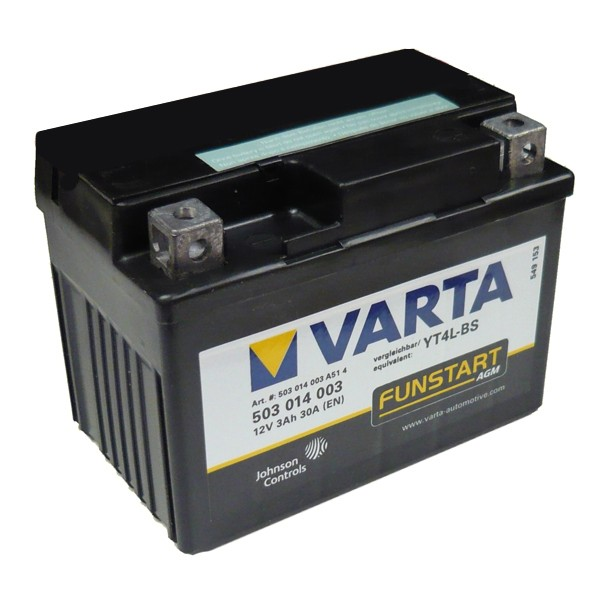 Акумулатор YT4L-BS VARTA