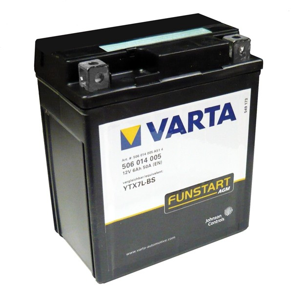 Акумулатор YTX7L-BS VARTA