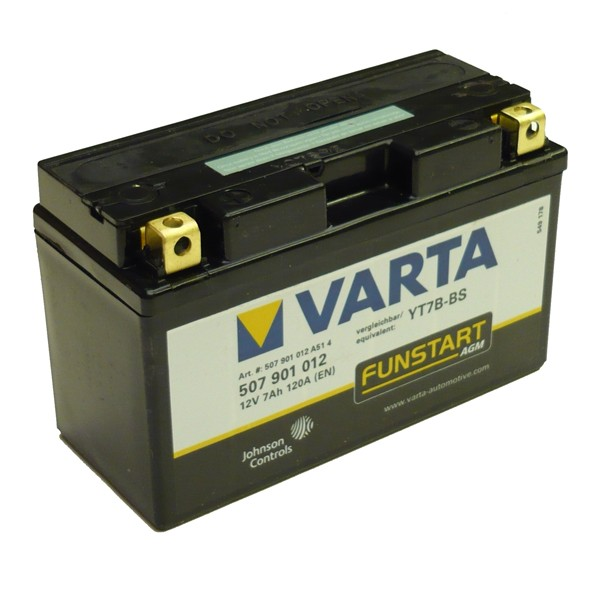 Акумулатор YT7B-BS VARTA