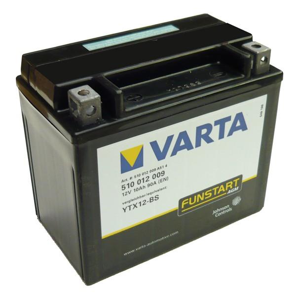 Акумулатор YTX12-BS VARTA