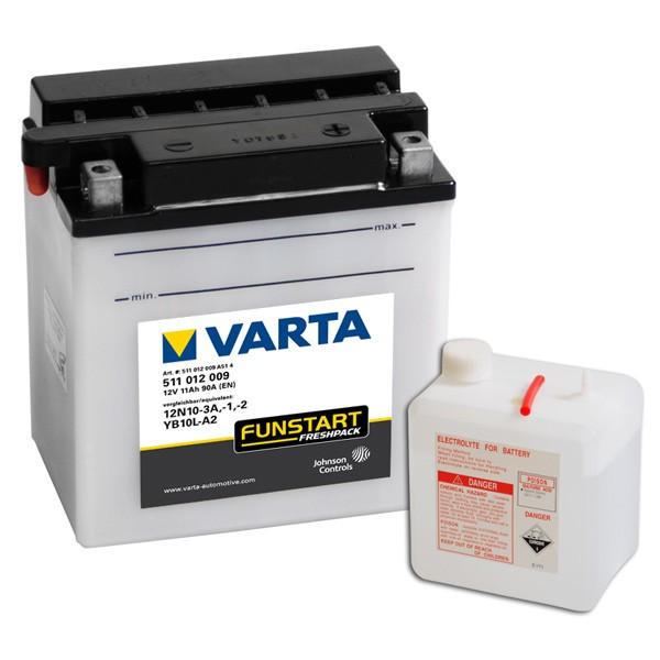 Акумулатор YB10L-A2 VARTA