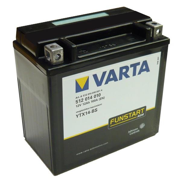 Акумулатор YTX14-BS VARTA