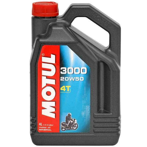 MOTUL 3000 4T 20W50 Минерално масло
