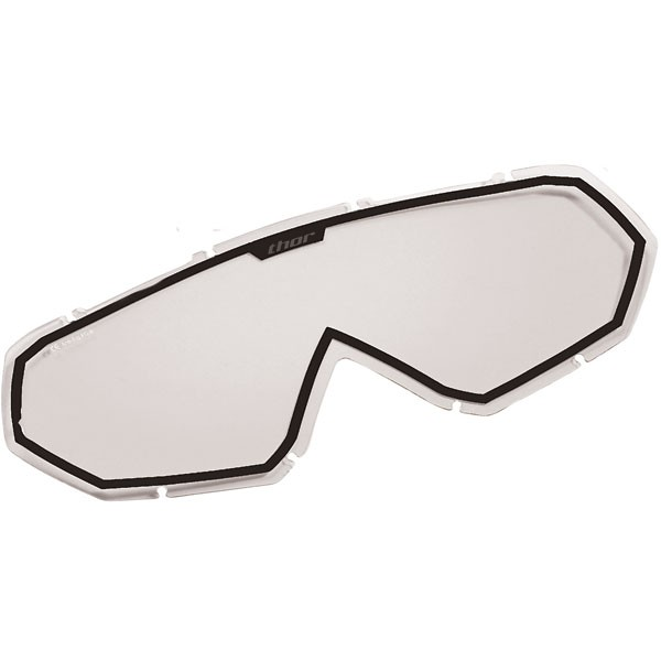 Прозрачна плака за очила THOR